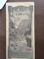 Platte Canon Tourist Association Cover