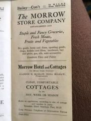 Morrow Store Company, Morrow Hotel & Cottages