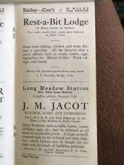 Rest-a-Bit Lodge, J.M. Jacot Rancher